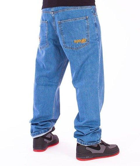 El Polako-Expedition Regular Jeans Light Blue