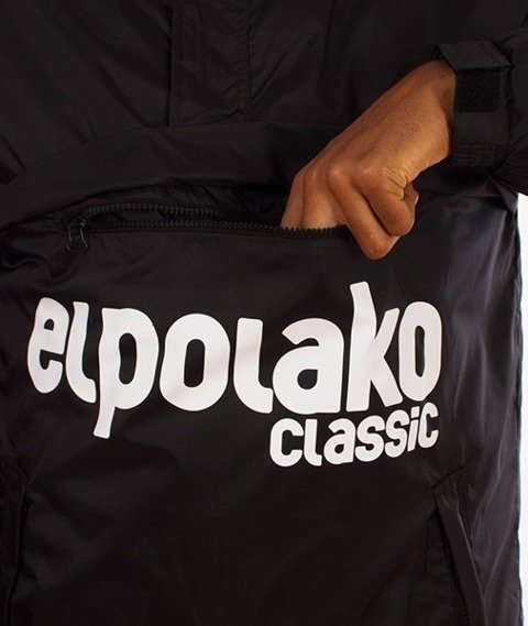 El Polako-Flyers Kangurka Kurtka Czarna
