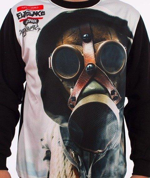 El Polako-Gas Mask Bluza Czarna