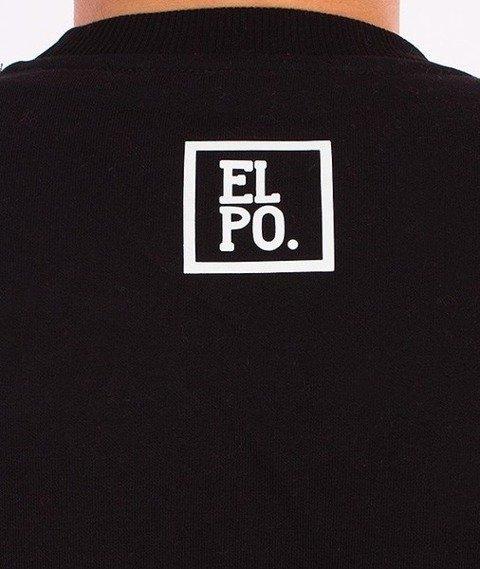 El Polako-Half Colour Bluza Czarna/Biała