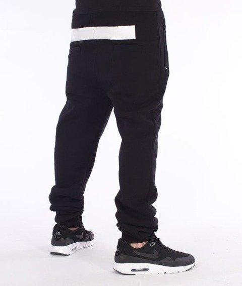 El Polako-Line Fit Spodnie Dresowe Czarne