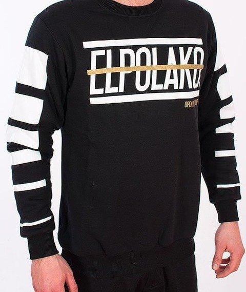El Polako-Lines Bluza Czarna