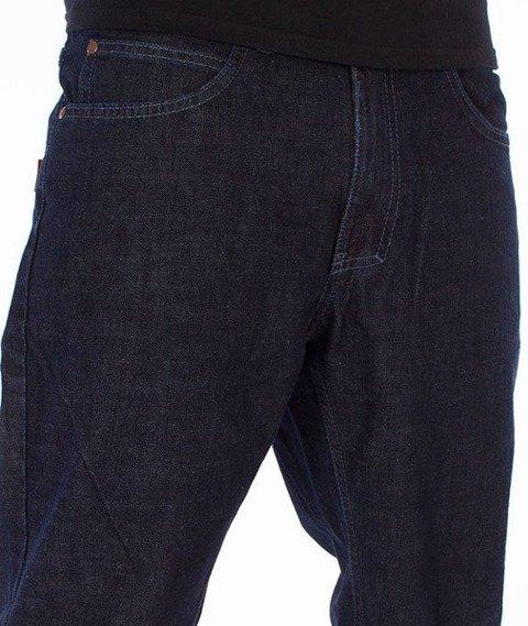El Polako-Logo Slim Jeans Spodnie Dark Blue