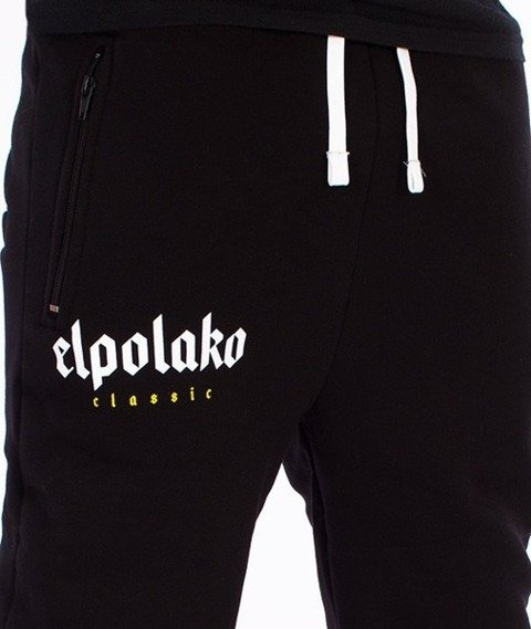 El Polako-Old Classic Fit Spodnie Dresowe Czarne