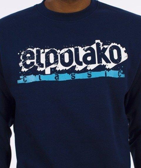 El Polako-Paint Classic Bluza Granatowa