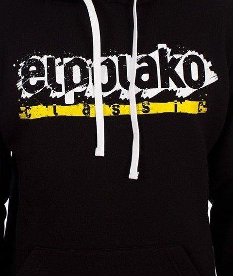 El Polako-Paint Classic Hoody Bluza Kaptur Czarna