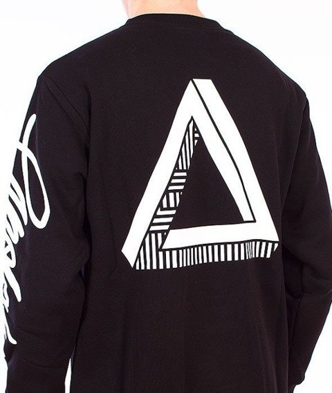 El Polako-Triangle Bluza Czarna