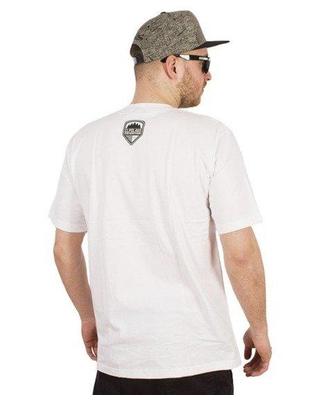 El Polako-Wild Eyes Wolf T-Shirt Biały