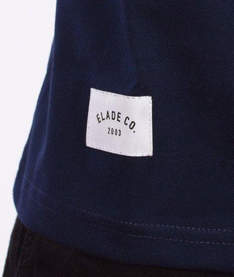 Elade-College T-Shirt Granatowy