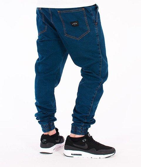 Elade-Denim Jogger Blue