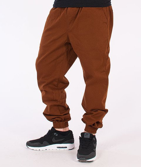 Equalizer-Jogger Spodnie Materiałowe Brązowe