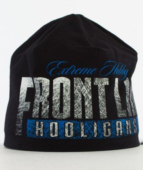 Extreme Hobby-Frontline Wind Cap Czapka Zimowa Czarna/Niebieska