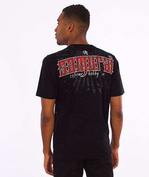 Extreme Hobby-Samurai T-shirt Czarny