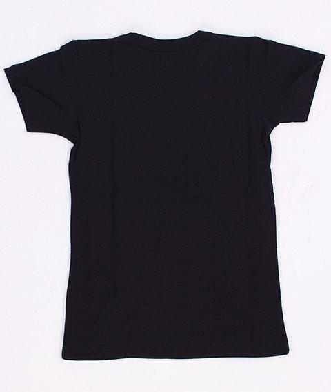 Gang Albanii-Big Kogz T-shirt Damski Czarny