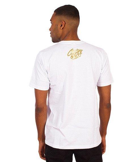Gang Albanii-Kapitan Koks T-Shirt Biały