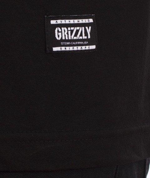 Grizzly-OG Stamp Logo T-Shirt Black