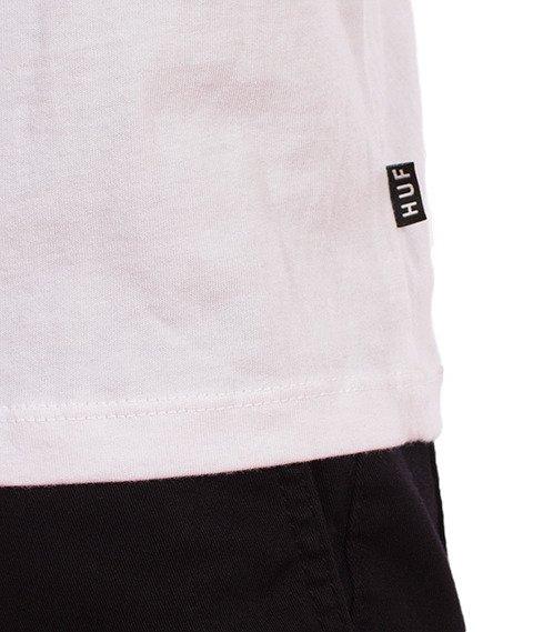 HUF-Classic H Pocket T-Shirt Biały