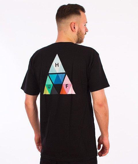 HUF-Triangle Prism T-Shirt Czarny