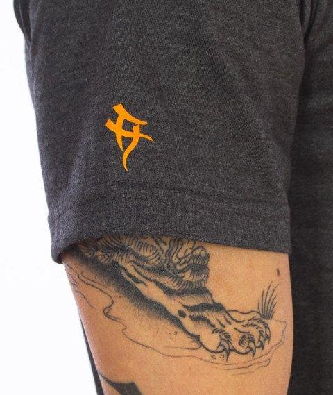 Hipotonia-HTA Brand T-shirt Grafitowy