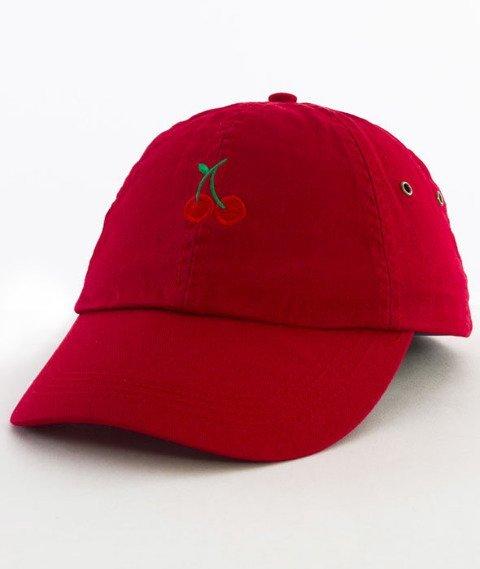 Hype-Cherry Dad Hat Czapka Z Daszkiem Red