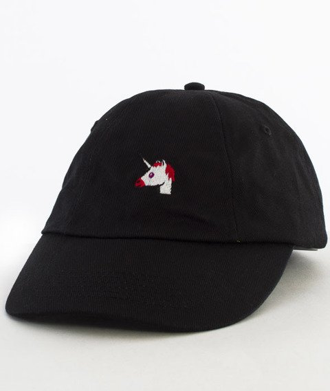 Hype-Unicorn Dad Hat Czapka Z Daszkiem Black