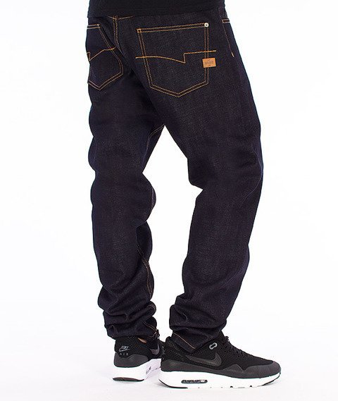 Intruz-Denim Spodnie Jeansowe Dark Blue