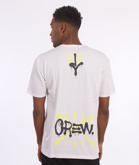 JWP-Crew T-shirt Biały