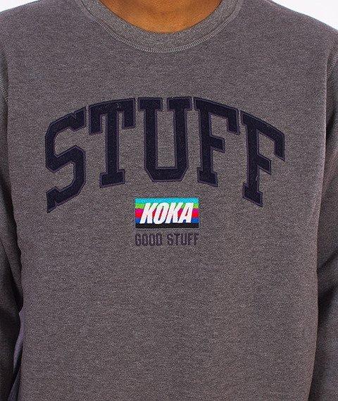 Koka-Vintage Bluza Szara