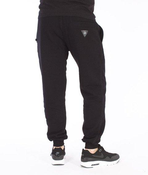 Lucky Dice-Classic Sweatpants Spodnie Dresowe Czarne