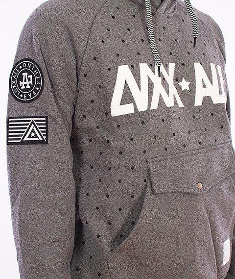 LuxxAll-Frontin Bluza Z Kapturem Grafitowa