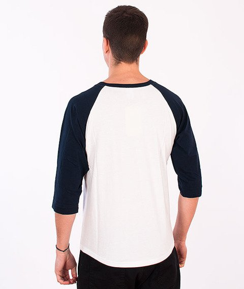 Majestic-Brooklyn Dodgers Raglan White/Navy