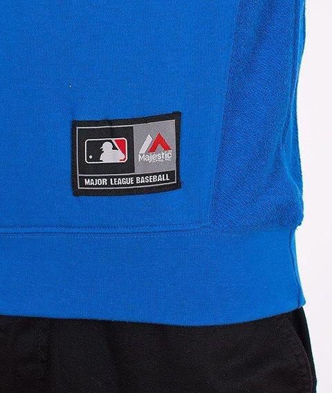Majestic-Brooklyn Dodgers Sleveless Crewneck Blue