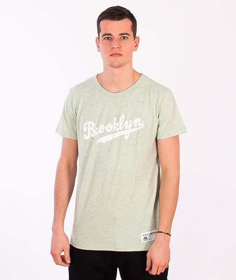 Majestic-Brooklyn Dodgers T-shirt Light Green