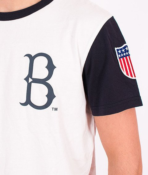 Majestic-Brooklyn Dodgers T-shirt White/Navy