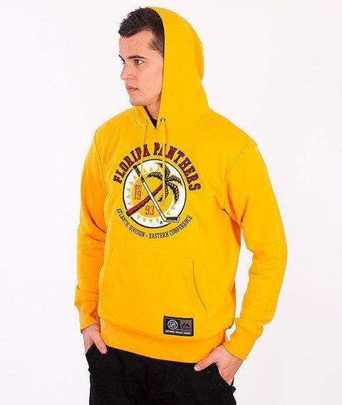 Majestic-Florida Panthers Hoodie Yellow