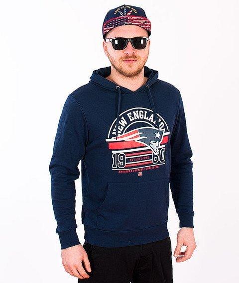 Majestic-New England Patriots Hoodie Navy