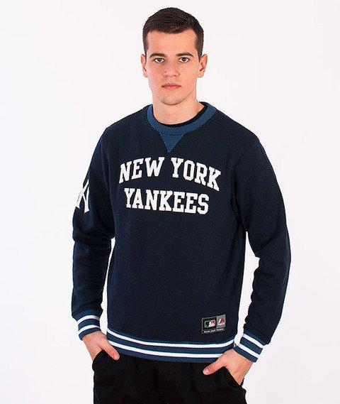 Majestic-New York Yankees Crewneck Navy