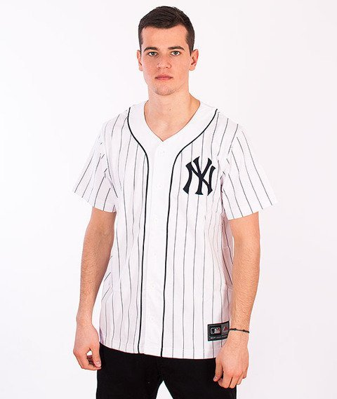 Majestic-New York Yankees Jersey White