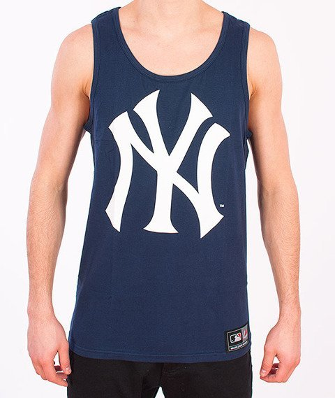 Majestic-New York Yankees Limner Tank Top Navy