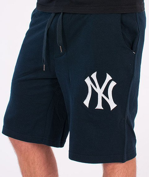 Majestic-New York Yankees Short Desta Fleece Navy