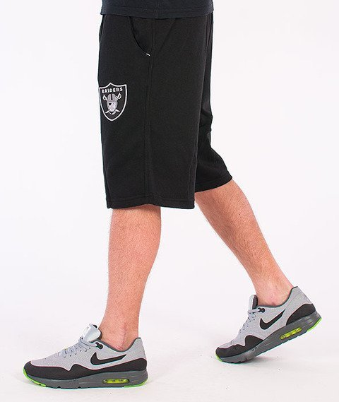 Majestic-Oakland Raiders Short Desta Fleece Black