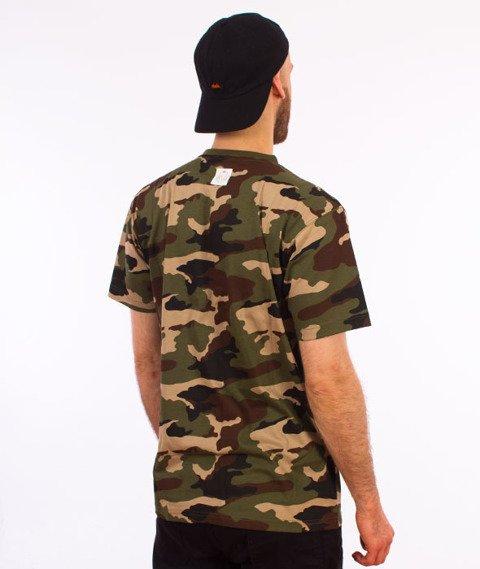 Mass-Base T-shirt Woodland Camo