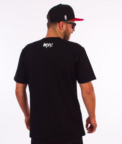 Mass-Burn B..tch T-shirt Czarny