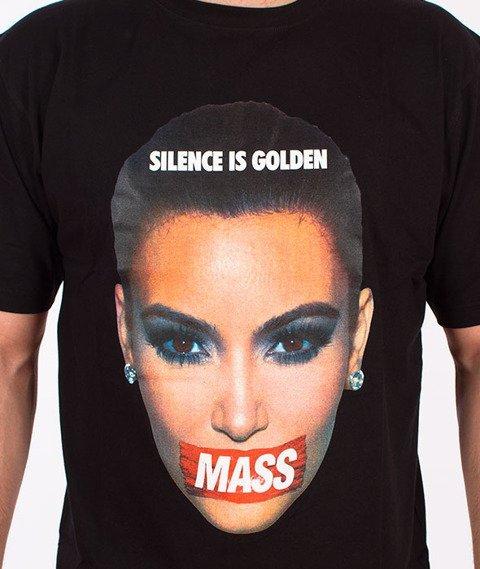 Mass-Silence T-shirt Czarny