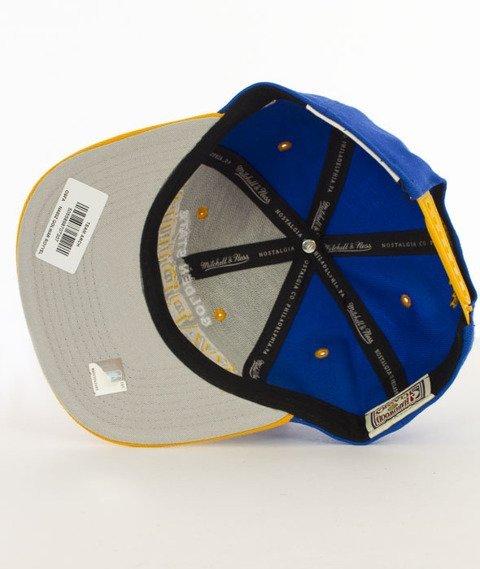 Mitchell & Ness-Team Arch Golden State Warriors Snapback NA80Z Niebieski/Żółty