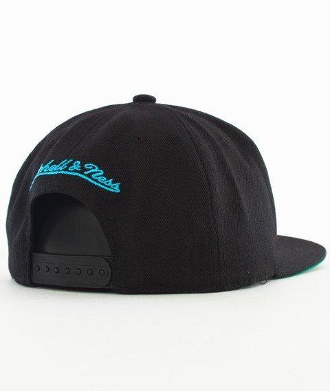 Mitchell & Ness-Utah Jazz Wool Solid Snapback NL15Z Black