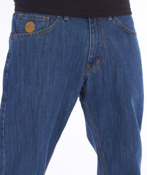 Moro Sport-78 Straight Fit Spodnie Średni Jeans