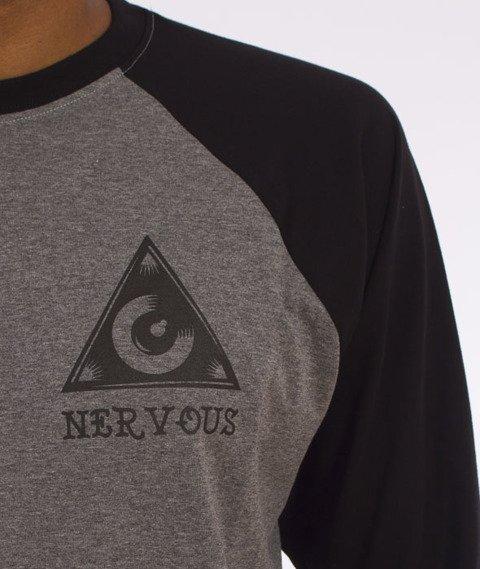 Nervous-Eye Fa16 Longsleeve Szary/Czarny