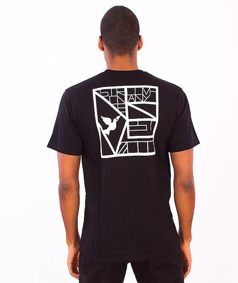 Nervous-Frame T-Shirt Black