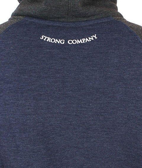 Nervous-Shield Bluza Kaptur Zip Jeans/Graphite